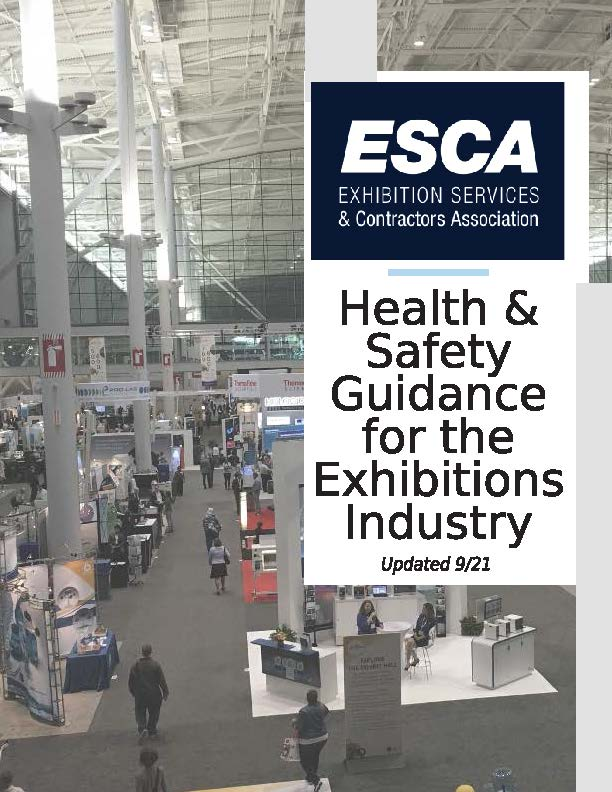 ESCA HEALTH & SAFETY GUIDANCE FOR THE EXHIBITIONS INDUSTRY
