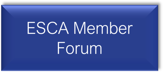 ESCA Member Forum